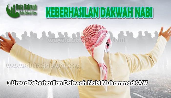 3 Unsur Keberhasilan Dakwah Nabi Muhammad SAW