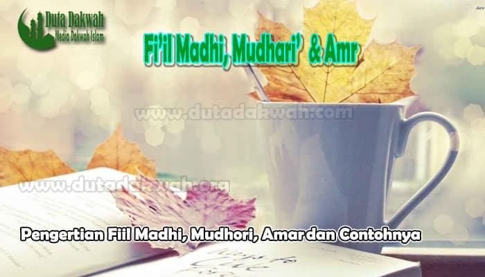 Fiil Madhi, Mudhori, Amardan Contohnya