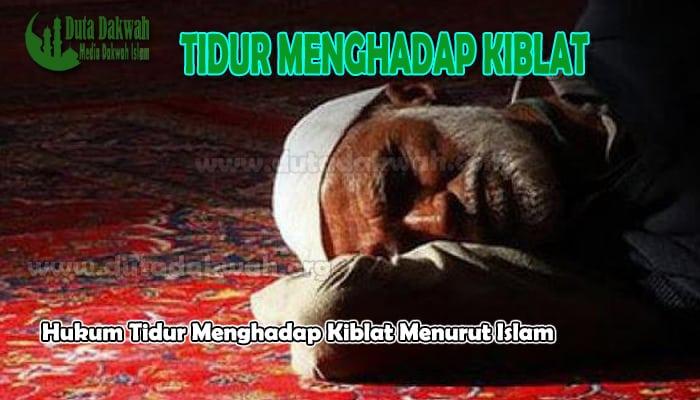 Tidur Menghadap Kiblat