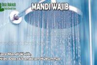 Cara Mandi Wajib