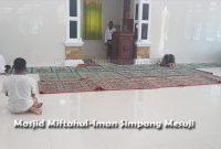 Pengertian Lantai Masjid, Antara Imam, Makmum dan Dalilnya