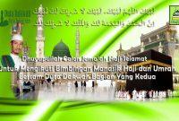 Tata Cara Manasik Haji Umroh dan Panduannya (Lengkap) II