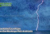 Doa KetikaTurun Hujan