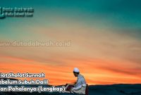 Niat Sholat Sunnah Subuh