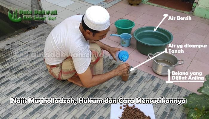Najis Mugholladzoh Hukum dan Cara Mensucikannya