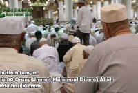 Ada 10 Orang Ummat Muhamad Dibenci Allah pada hari Kiamat
