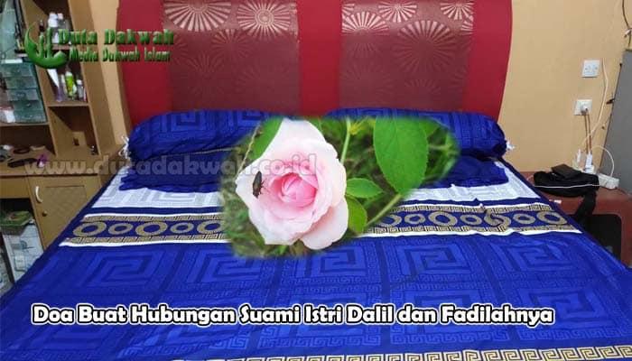 Doa Buat Hubungan Suami Istri Dalil dan Fadilahnya
