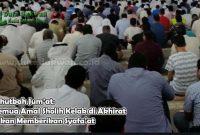 Semua Amal Sholih Kelak di Akhirat Akan Memberikan Syafa'at