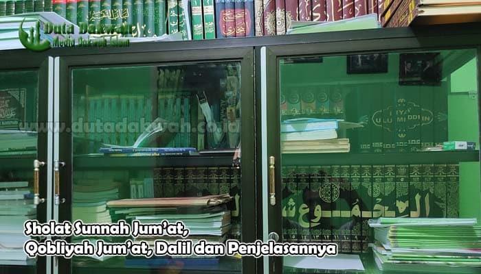 Sholat Sunnah Qobliyah Jum'at Dalil dan Penjelasannya