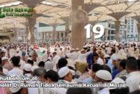 Sholat Di Rumah Tidak Sempurna Kecuali di Masjid