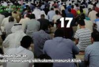 Sholat-sholat yang lebih utama menurut Allah
