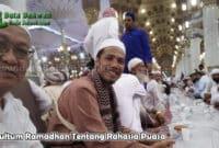 Kultum Ramadhan Tentang Rahasia Puasa