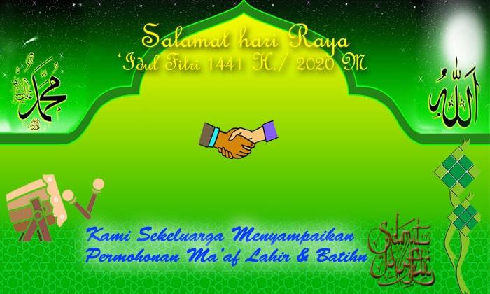 111 Ucapan Selamat Hari Raya Idul Fitri 1441 H 2020 M