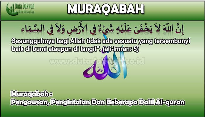 Muraqabah Pengawsan, Pengintaian Dan Beberapa Dalil Al-quran.jpg