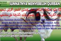 Sunnatnya Waktu Menyembelih Qurban Menurut Fiqih dan Dalil Hadits.jpg