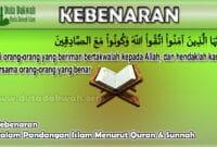 Kebenaran Menurut Pandangan Islam