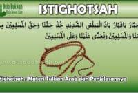 Istighatsah Tulisan Arab
