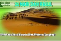 25 Rasul dan Nabi