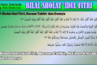 Bilal Sholat Idul Fitri